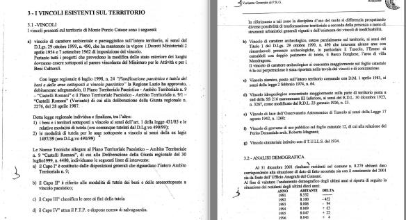 """tutti i vincoli del territorio... il """"vincolo luce"""" del '42 anche se ufficialmente abrogato resta in vigore come legge quadra nazionale"""