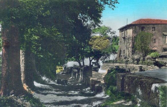Il convento in cima al monte.