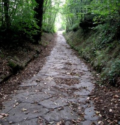 La ex-via Trionfale/via sacra